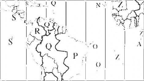 Zeitzonen der Erde Detail 4